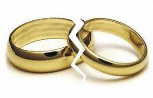 Los Matrimonios Rotos aumentan respecto al 2011