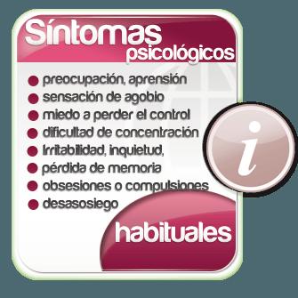 Sintomas Psicologicos de la Ansiedad